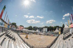 Aufbau BVB Baden 2017 - Stadion innen (nicht fertig)