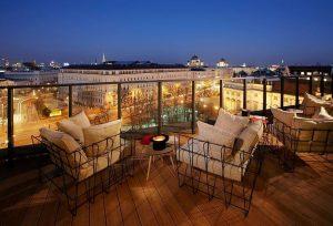 Dachboden im 25 Hours Hotel Wien