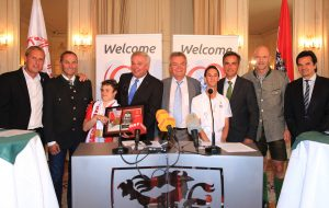 SPECIAL OLYMPICS - Special Olympics World Winter Games, press conference