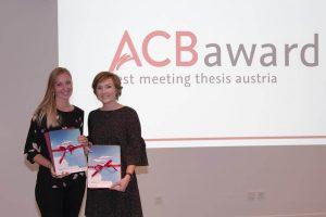 ACB award 2017 Gewinnerinnen