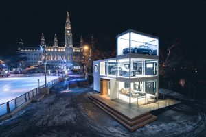 Exhibition-Events: Volvo Design Cube am Wiener Eistraum 2017