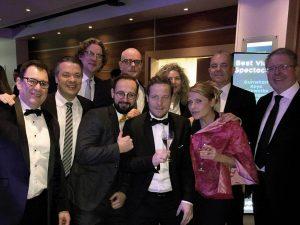TeilnehmerInnen von #Live&Global auf der CONFEX 2018 in London, Foto: FAMAB Kommunikationsverband e.V.