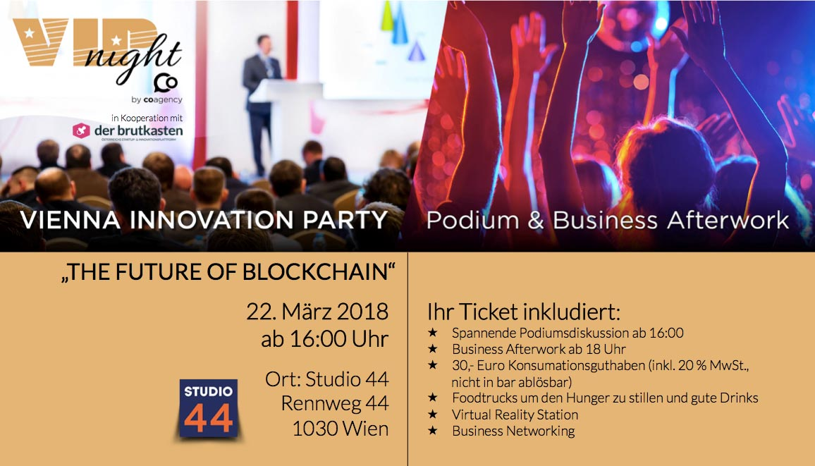 VIP night BLOCKCHAIN by co agency