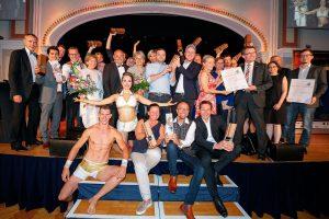 Goldener Hahn 2018: Gruppenbild der Gewinner, Foto: leadersnet.at - Alex Felten