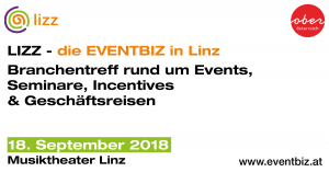LIZZ 2018 - die EVENTBIZ in Linz