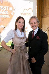 Wiener Wiesn Geschäftsführerduo Simone Kraft und Christian Feldhofer, Foto: Harald Klemm
