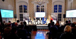 Austrian-Compliance-Enquete 2018 in Laxenburg: Brezovich, Kastner, Wurzenberger, Zimmermann