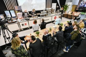 Internationale Chefköche auf der CULINARY STAGE der BOE 2019