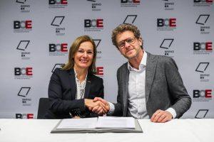 Die Partnerschaft zwischen BOE & LiveCom Alliance wird besiegelt!