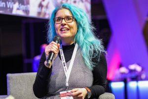 Christina Riedler bei der BrandEx in Dortmund, Foto: Ronny Barthel
