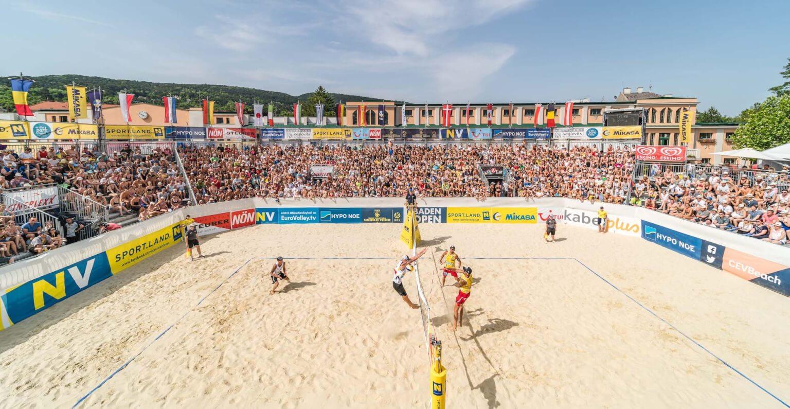In Baden wurde 10 Tage lang auf 360 Tonnen Sand gebaggert