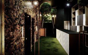 Eingang im Calea Dinner-Club Wien, Foto: Calea Club