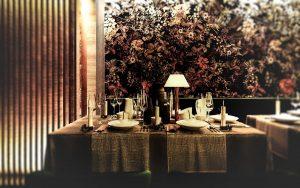 Tisch im Calea Dinner-Club Wien, Foto: Calea Club