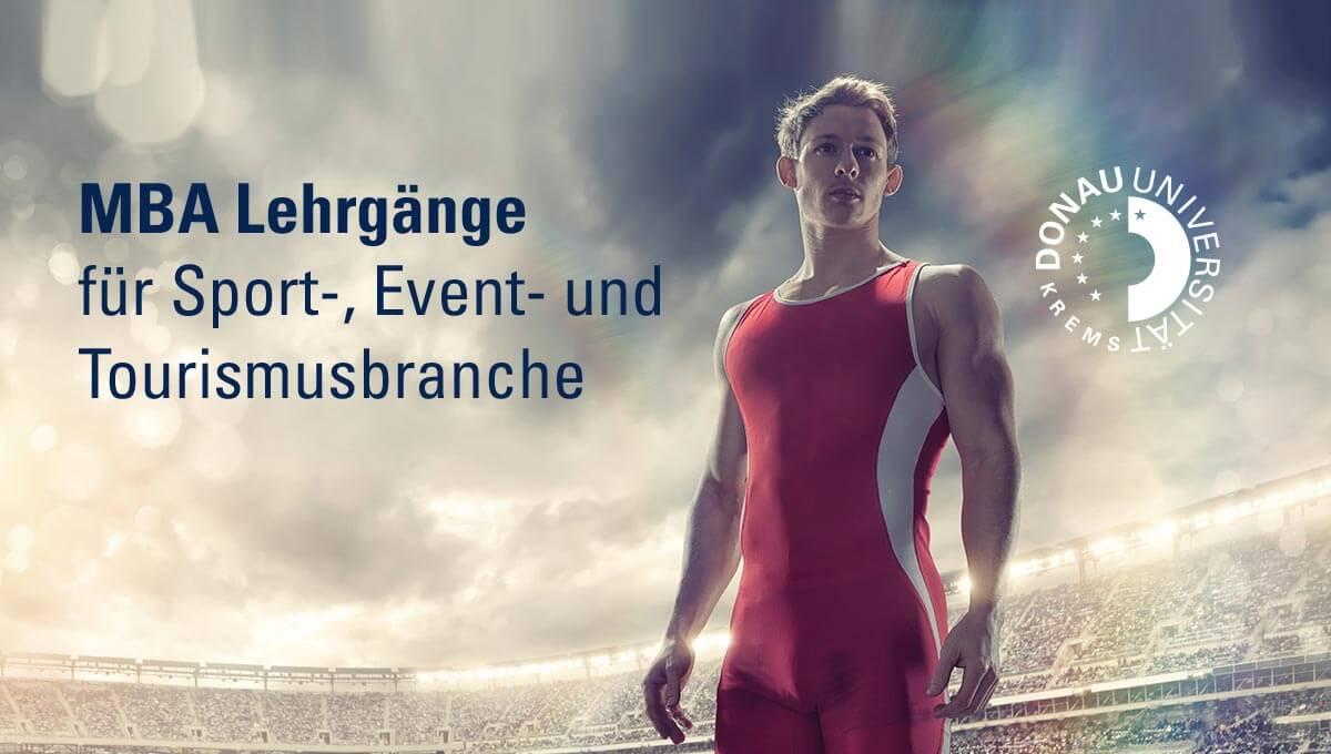 Donau-Universität Krems: MBA Lehrgänge für Sport-, Event- und Tourismusbranche