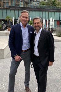 Martin Brezovich (eventplan) und Wolfgang Peterlik (pi-five)