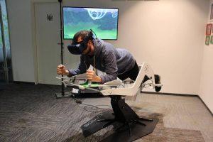 Virtueller Flugsimulator, Foto: KESCH