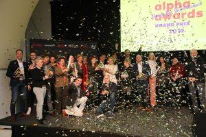 Die Gewinner des alpha awards Grand Prix 2019 wurden erstmals prämiert
