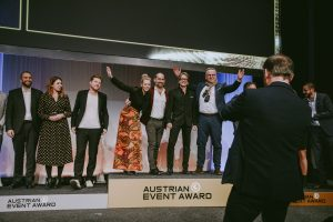 Austrian Event Award 2019 in Linz, Foto: Ness Rubey