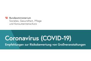 Checkliste Gesundheitsministerium Veranstaltungen Coronavirus COVID-19