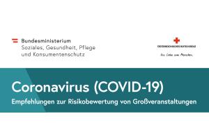 Checkliste Coronavirus Version 2 zur Risikobewertung von Veranstaltungen