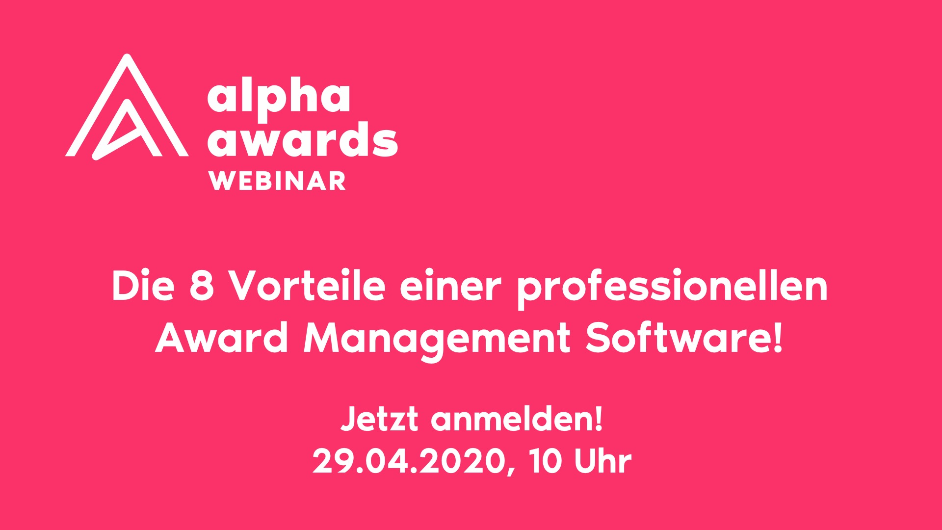 8 Vorteile einer Award Management Software