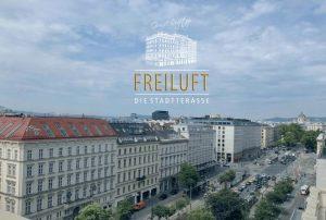 """""""Freiluft"""" im Wiener Grand Hotel"""