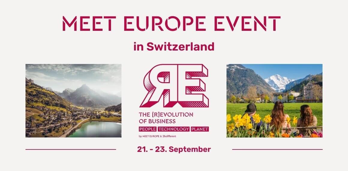 MEET EUROPE Event in der Schweiz