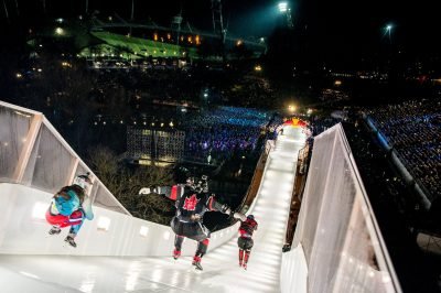 Red Bull Crashed Ice Track